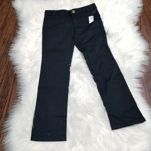 🆕️ Old Navy Boy Black Pants Adjustable Waist Sz 6